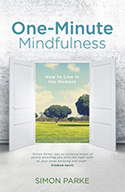 Picture of the cover of One Minute Mindfulness.