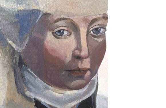 Painting of Julian of Norwich