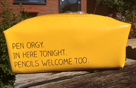 Photo of Simon's pencil case